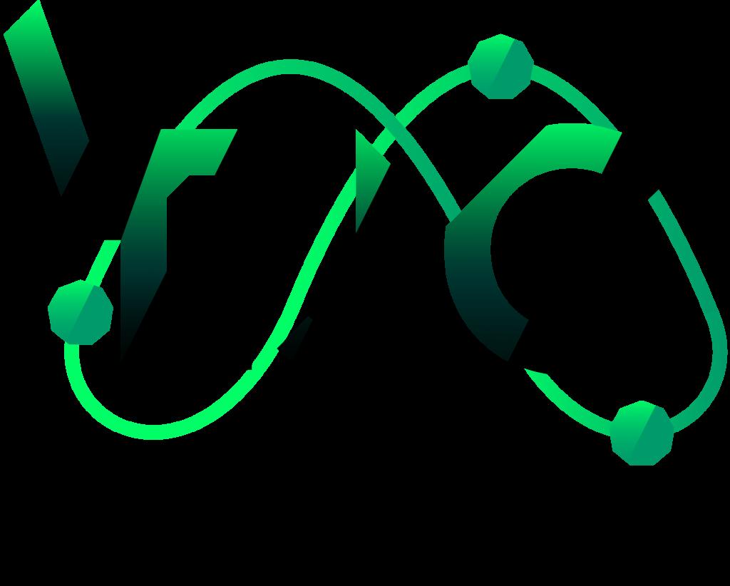 Virtual European Juggling Convention Logo